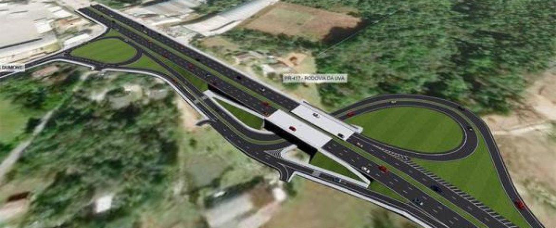 DER assina contrato para viadutos na Rodovia da Uva, na Grande Curitiba