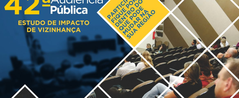 42ª Audiência de EIV terá estudos de empreendimentos no bairro Costeira