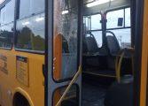 Motorista de ônibus é socorrido após ser agredido por passageiro em suposto mal-entendido