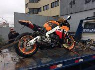 Motocicleta da família Brittes está em nome de traficante preso pela PF, diz delegado