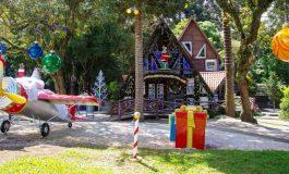 Com neve e fogos artificiais 'Casa do Papai Noel' abre as portas nesta terça-feira em SJP