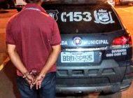 Ladrão de celular é preso pela Guarda Municipal de Araucária