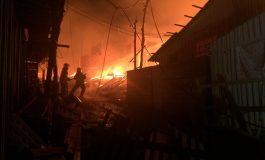 Pânico na CIC: Mais de 300 casas destruídas em incêndio na região em que PM foi morto