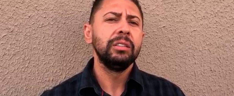 Edison Brittes recebeu orientação de policial antes de ser preso