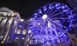 Roda gigante da Santos Andrade recebeu 4,3 mil pessoas no primeiro fim de semana