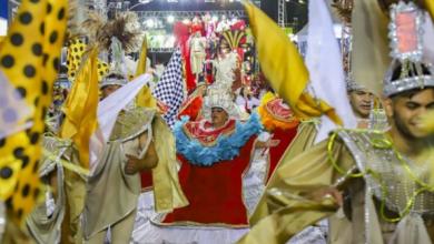 Foto de Desfile das escolas de samba leva 30 mil pessoas para a rua em Curitiba