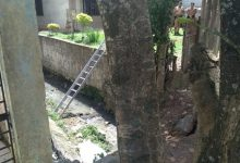 Foto de Homem esquece a chave de casa, tenta entrar pelo muro, mas cai, bate cabeça e morre