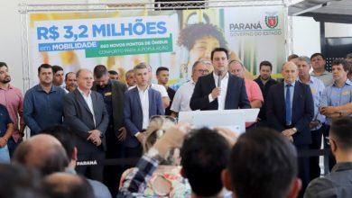 Foto de Governo entrega 660 novos pontos de ônibus para Região Metropolitana de Curitiba