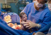 Foto de Com expressão 'zangada' recém nascida é destaque nas redes sociais