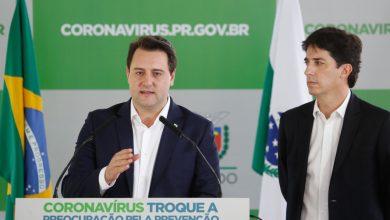 Foto de Governo do Paraná contraria recomendação do presidente e confirma que manterá medidas contra COVID-19