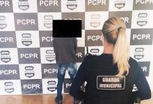 Foto de Homem é preso pela GM após mostrar as partes íntimas para criança dentro de ônibus em Araucária