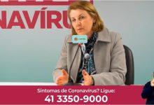Foto de Coronavírus vira motivo para golpes em Curitiba, alerta secretária da Saúde