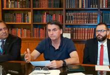 Foto de Bolsonaro diz que auxílio emergencial deverá ter quarta parcela