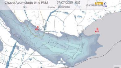 Foto de Com previsão de temporal, novo ciclone se aproxima da região Sul; Simepar explica