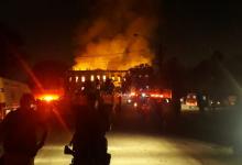 Foto de Incêndio no Museu Nacional não foi criminoso, aponta Polícia Federal