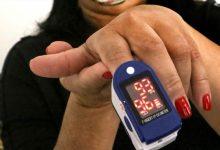 Foto de Pacientes de risco são monitorados com oxímetro para evitar evolução da covid