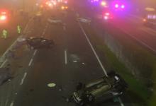 Foto de Acidente gravíssimo na BR-277 entre carros, motos e caminhão deixa oito mortos e 23 feridos