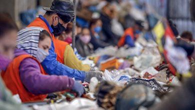 Foto de Centro de reciclagem de Araucária ganha novas esteiras para separação de materiais
