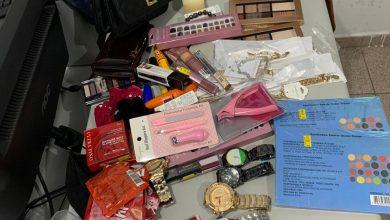 Foto de GMA prende duas mulheres por furto em lojas no centro de Araucária