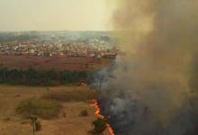 Foto de Fumaça do Pantanal se desloca para o Sul do país