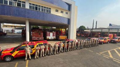 Foto de Bombeiros do Paraná vão ajudar no combate a incêndio no Pantanal